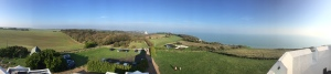 Gorgeous panoramic view from the top of the lighthouse