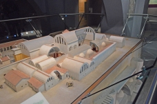 Model of what the baths looked like